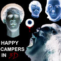 HAPPY CAMPERS IN 3D image