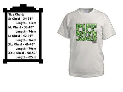 Men's Piff Rhys Jones - Gunja Leaf Font T main photo