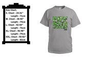 Men's Piff Rhys Jones - Gunja Leaf Font T photo