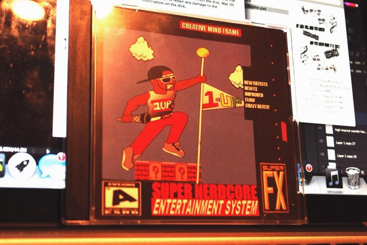 Super Nerdcore Entertainment System   Creative Mind Frame