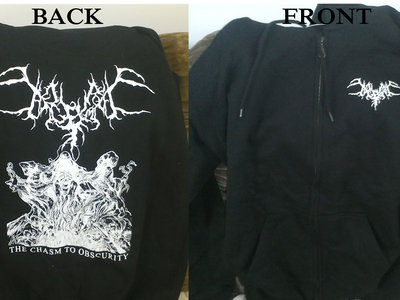 Chasm to Obscurity Zip Up Hoodie main photo