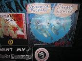 "PACKAGE DEAL - $25 - T-SHIRT, CD, 2 7""S, STICKER, BUTTON photo"