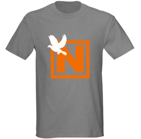 6907d5b4ff1 Nissim World T-shirt - Charcoal Grey