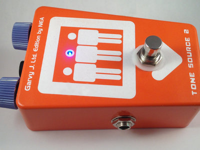 Garvy J. LTD Edition Tone Source Two distortion pedal main photo