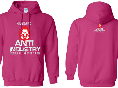 Antiindustry Pink Hoodie main photo