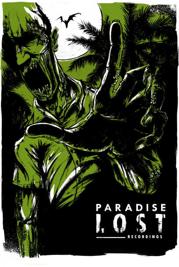 paradise lost 5 year anniversary zombie print includes download for 5 - Zombie Pictures To Print