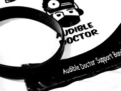 "Audible Doctor ""Support"" Wristband main photo"