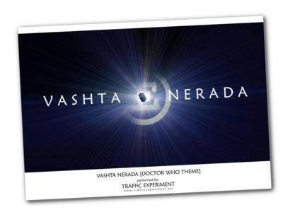 Traffic Experiment - Vashta Nerada [Doctor Who Theme] A2 poster main photo