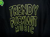 "POS ""TRENDY FUCKWIT MUSIC"" hoodie photo"