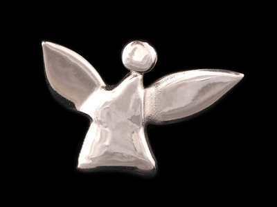 fairy angel #1 - polished silver main photo