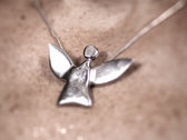 fairy angel #1 - polished silver photo