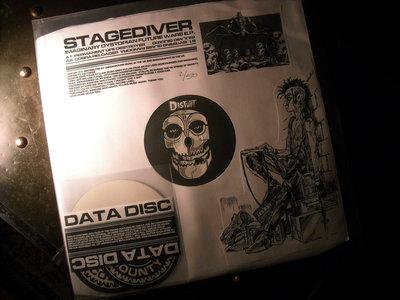 """Stagediver – Imaginary Dystopian Future Wars E.P. Vinyl 12"""" main photo"""