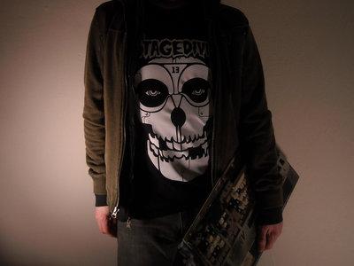 """Stagediver """"Misfits/Terminator Skull"""" Tee main photo"""