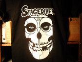 """Stagediver """"Misfits/Terminator Skull"""" Tee photo"""