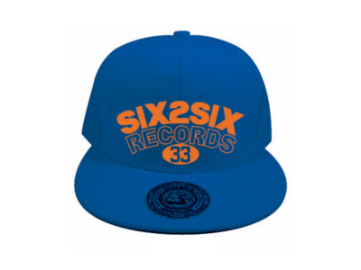 Limited Edition 'SIX2SIX RECORDS' ® Pat Knick Logo Hat (Royal) main photo
