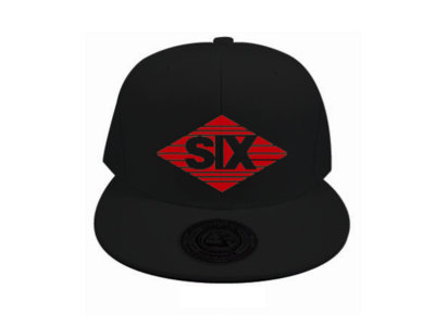 Limited Edition 'SIX2SIX RECORDS' ® Strata SIX Logo Hat (Black) main photo