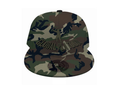 Limited Edition 'SIX2SIX RECORDS' ® GLOBAL P Hat (Camo) main photo