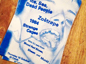 Ice, Sea, Dead People - Risograph Poster photo