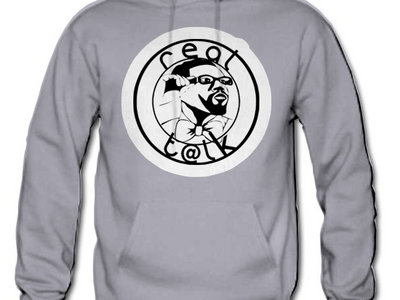 Men's Real T@lk logo hoodie main photo