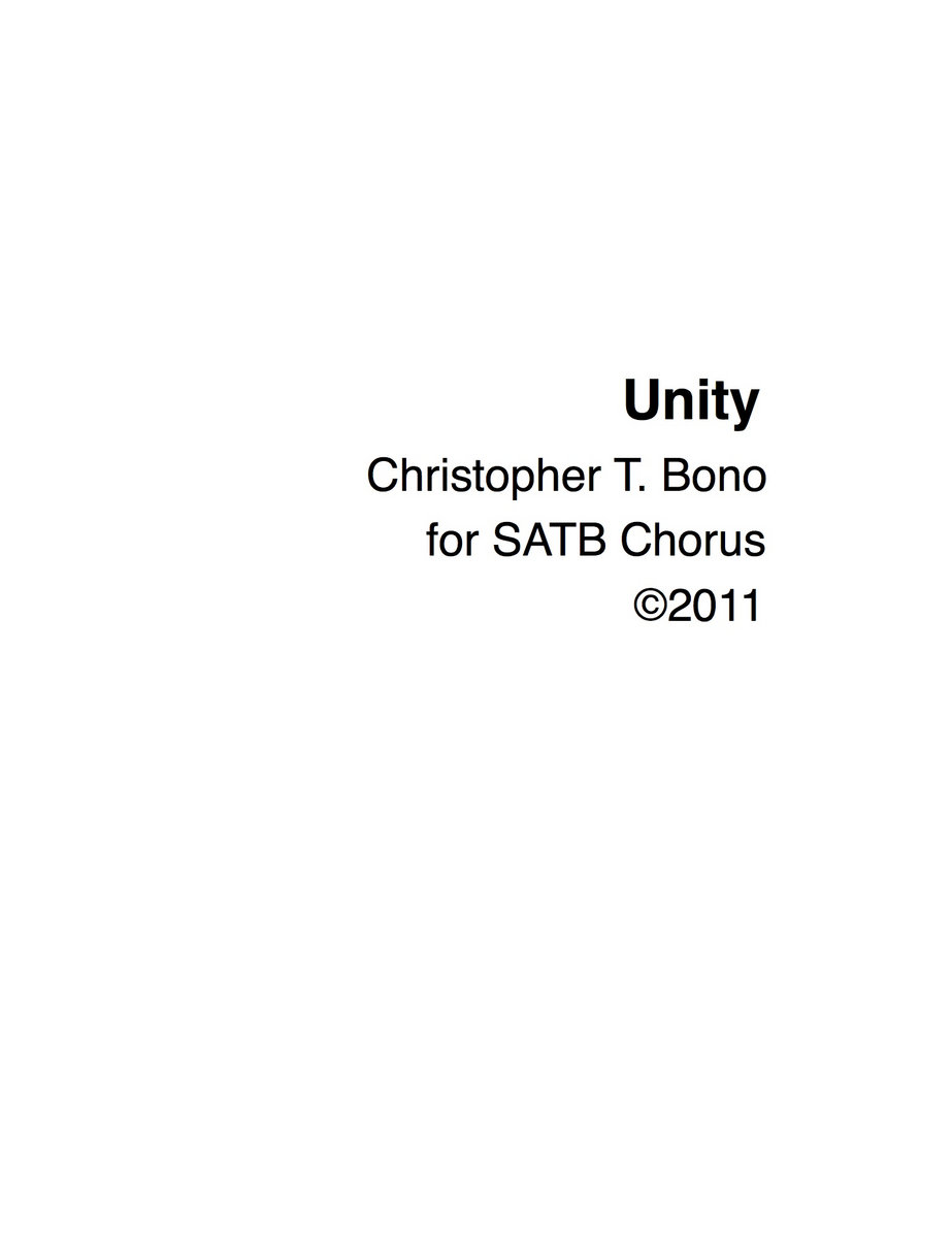Unity (digital download) | Our Silent Canvas
