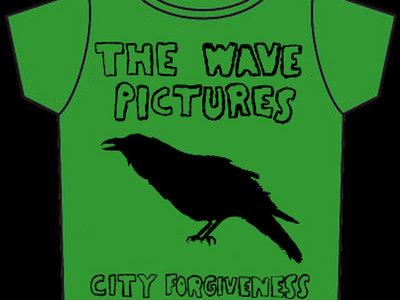 City Forgiveness T-shirt Green with Black print main photo
