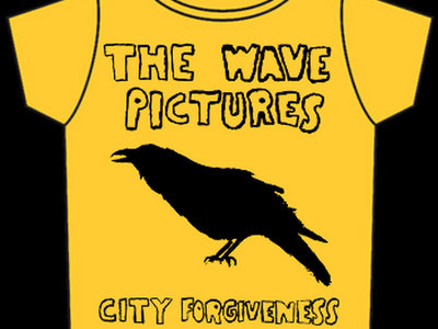 Yellow City Forgiveness T-shirt Yellow with Black print main photo