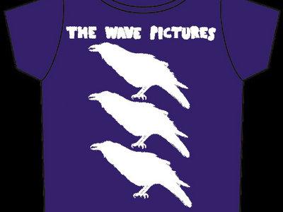 City Forgiveness T-shirt Purple with White Print main photo