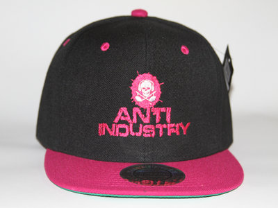 Black & Pink Antiindustry Snap back main photo