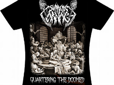 Quartering The Doomed Girlie Shirt main photo