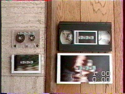 VHS tape + audio cassette main photo