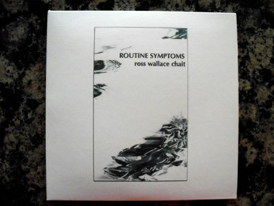 "AMOK066 - Ross Wallace Chait - ""Routine Symptoms"" CD main photo"