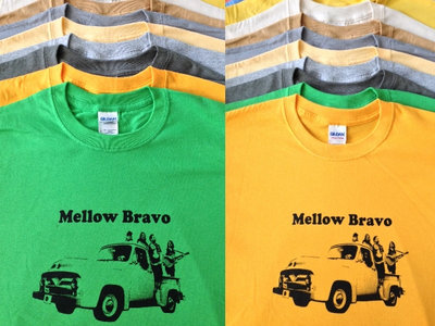 Mellow Bravo Big Block t-shirt main photo