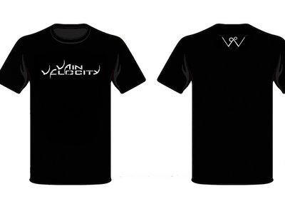 "Vain Velocity ""Decayed"" Logo T-Shirt [Black, White] main photo"