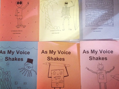 As My Voice Shakes (chapbook) main photo