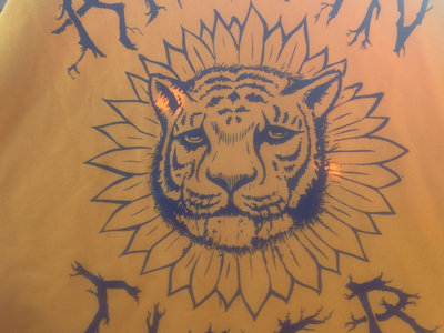 Gold and Blue Sunflower Tiger main photo