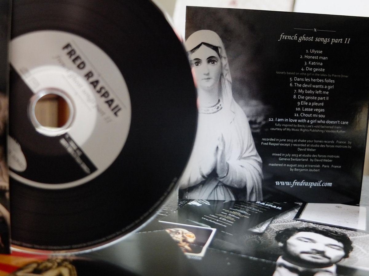 French ghost songs part ii . first limited edition fred raspail