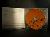 Two Miles A Day - compact disc edition photo