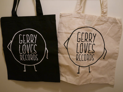 Gerry Loves Records tote bag main photo