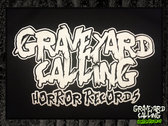 Glow-In-The-Dark Graveyard Calling Logo T-shirt photo