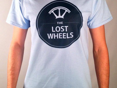 The Lost Wheels Logo Design T-shirt main photo