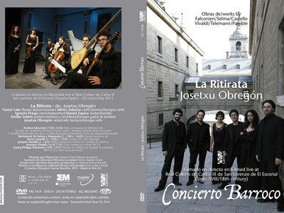 DVD Concierto Barroco - Digipack with 28-page color booklet main photo