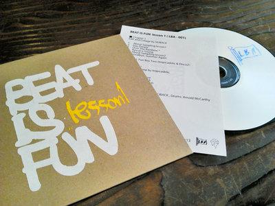 Compilation CD-R / with silkscreen printed handmade case main photo
