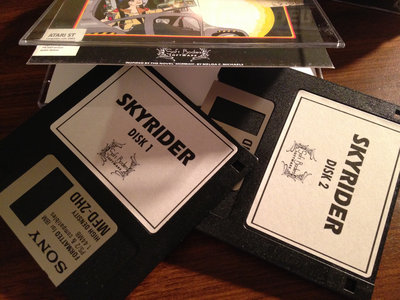 Skyrider Deluxe Edition Floppy Disk Set main photo