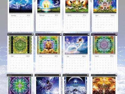 Altar Records 2014 calendar main photo