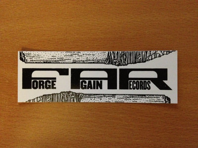 Forge Again logo stickers main photo