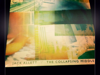 Jack Allett 'The Collapsing Middle' CD main photo