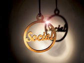 Hope and Social Christmas Tree Decorations photo