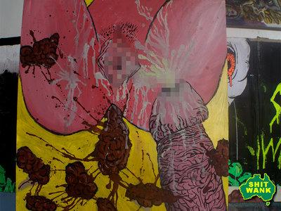 Passenger of shit 6 , cover art / original painting main photo