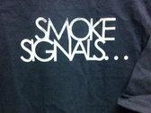 Smoke Cig T-Shirt (Navy) photo