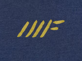 Indigo & Gold Slash T-Shirt photo